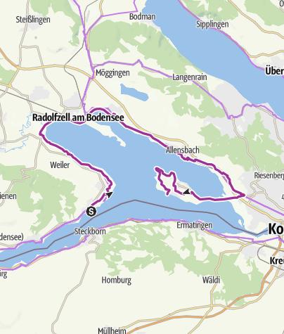 Map / Untersee, Zeller See, Gnadensee