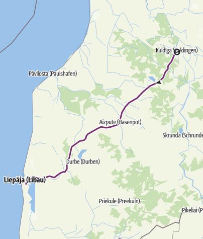 Baltikum 16: Kuldiga - Liepaja • Fernradweg » outdooractive.com