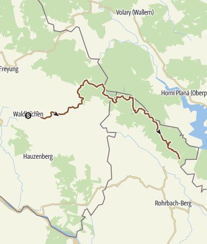 Karte / Nordwaldkamm Tag 1