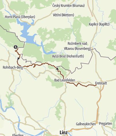 Karte / Nordwaldkamm Tag 2