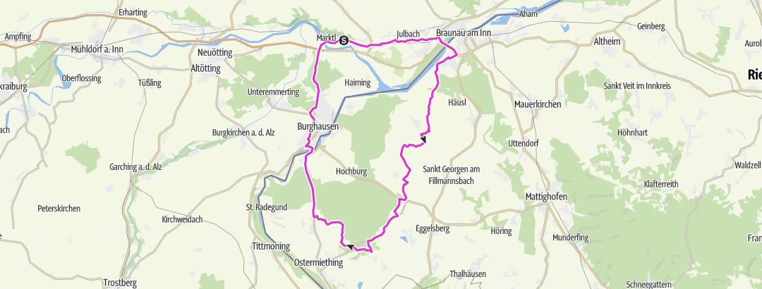 Map / RCR Tour