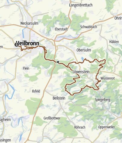 Karte / 3 Seen Tour