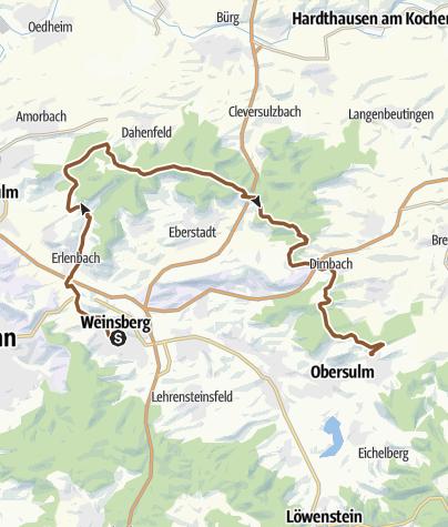 Karte / IVB MTB Tour Nr. 2 - Salzweg