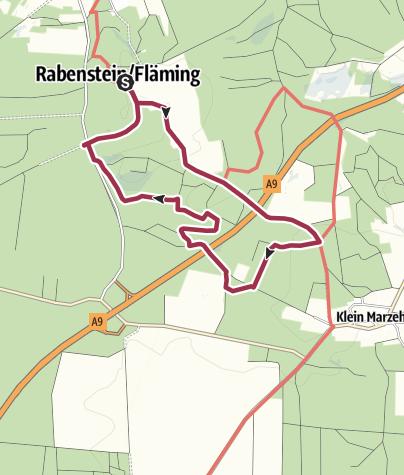 Karte / Kleine Tour zum Sonntag Rabenstein