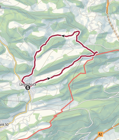 Karte / NWCH    1: BELCHENFLUE  1091m    *