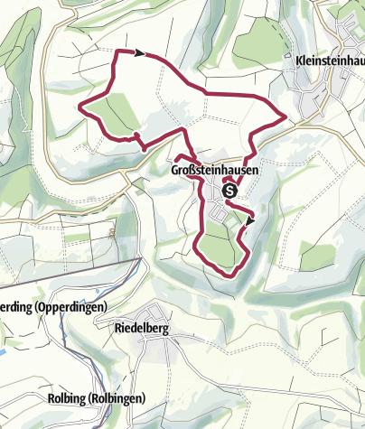 Karte / Großsteinhausen April 2017