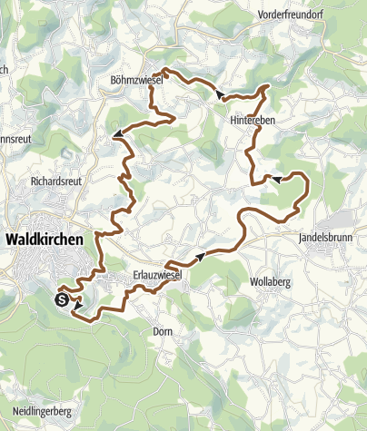 Karte / RSC 1 Über die Golfplätze zur Höllmühle