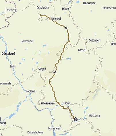 Karte / Hagen
