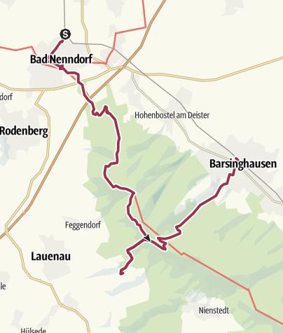 Karte / Stempelspaß - Wanderung 3