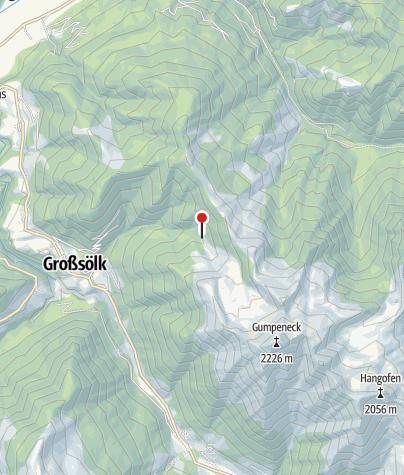 Karte / Unterste Hütte 1420m