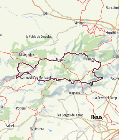 Map / Montsant versie B