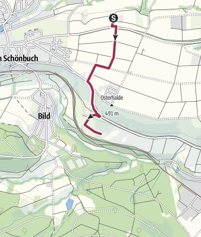 Karte / Schaubienenstand Schönbuchimkerei  -  Käsmacher Fam.Binder