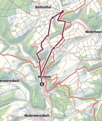 Map / Mittelalter Pfad