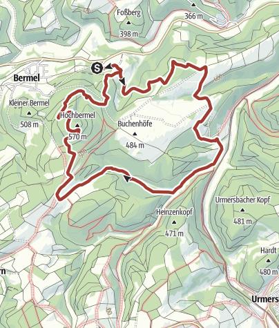 Karte / Traumpfad Hochbermeler - reloaded