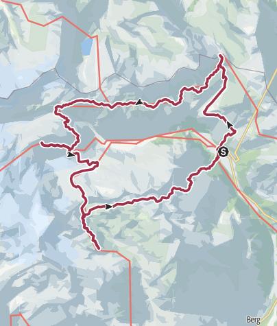 Karte / 4-Tagestour am Großvenediger