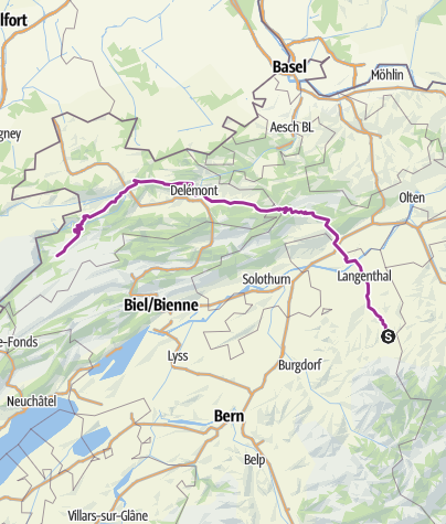 Map / Tourenplanung am 24. April 2017
