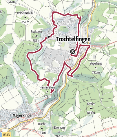 Karte / Rund ums Städtle