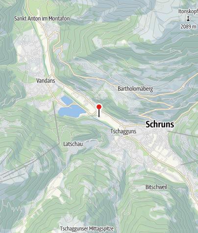 Karte / Ill Wasserfassung