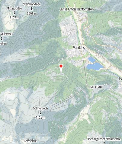 Karte / Tschagguns