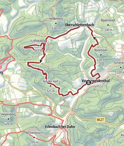 Karte / Bühlhof-Weg