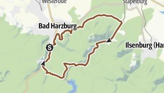 Kartta / Bad Harzburg - Molkenhaus - Radauwasserfall
