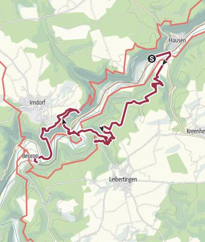 Karte / Von Fels zu Fels im wunderschönen Donautal!