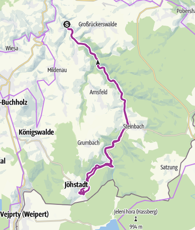 Karte / Preßnitztalradweg