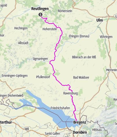 Karte / Versuchstour Theorie, RT -Li