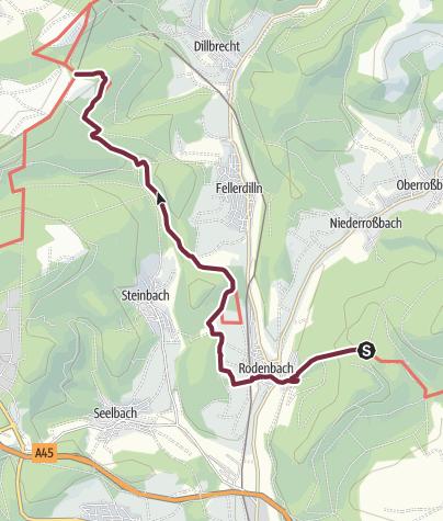 Karte / Rothaarsteig Teilstück 10 Alte Sitten und Bräuche