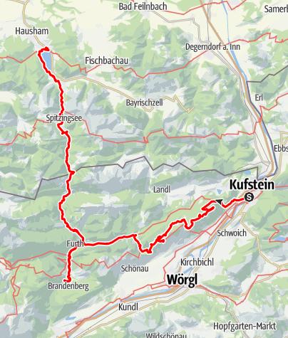 Map / Kufstein - Schliersee