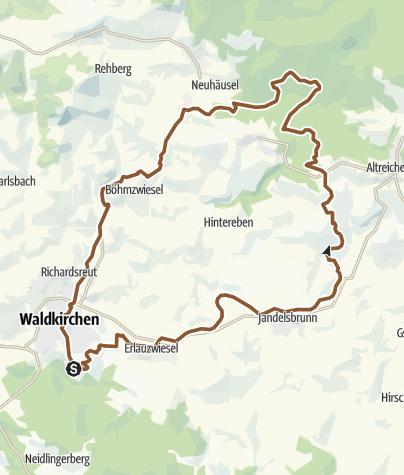 Karte / RSC 1 Übern Zielberg nach Kohlstattbrunn