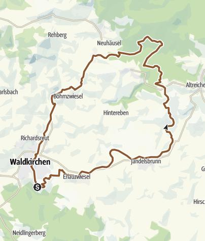 地图 / RSC 1 Übern Zielberg nach Kohlstattbrunn