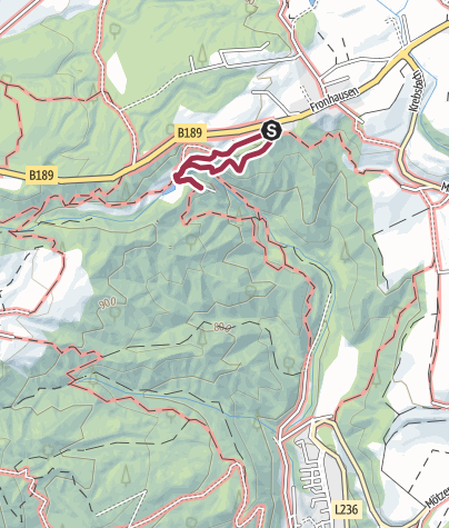 Karte / Klammbach Wasserfall Fronhausen 3. 7. 16
