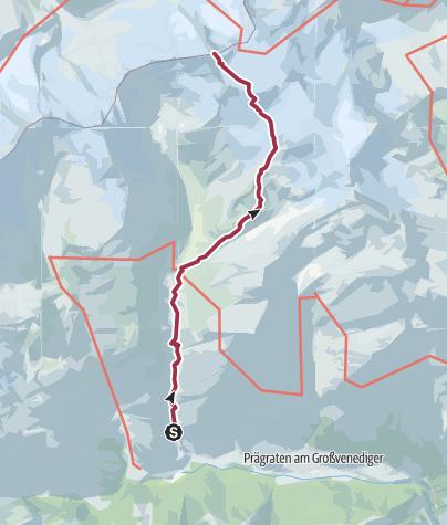 Map / Grossvenediger 2017
