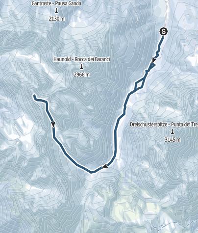 Map / Hochebenkofel - ein versteckter Gipfel in den Dolomiten