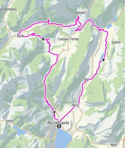 Cartina / Ballino - Durone - Stenico