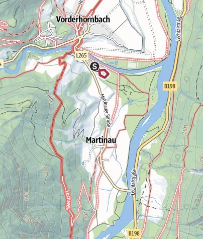 Karte / 14. Mai 2017 Martinau