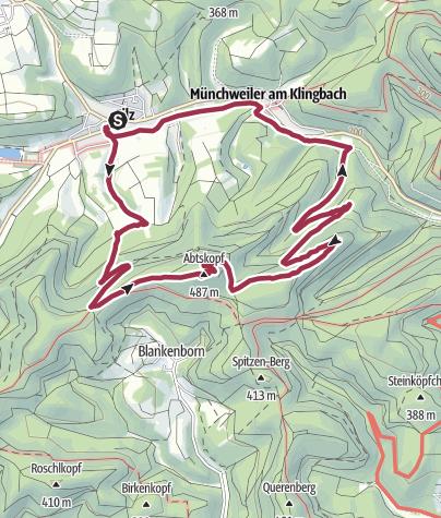 Karte / Silz - Naturparkrundweg 25