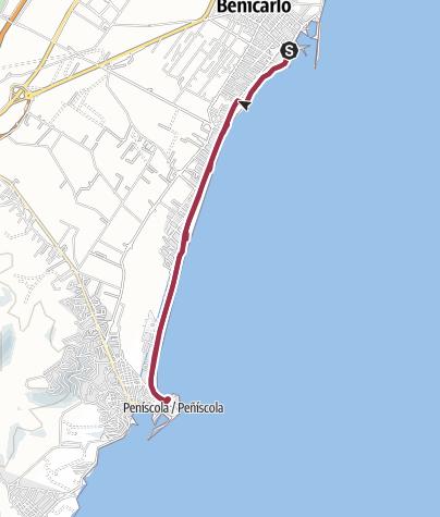 Karte / Parador de Bencarló