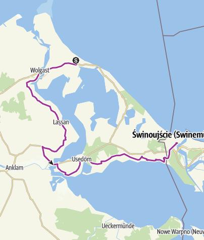 Map / Zinnowitz-Wolgast-Usedom-Stolpe-Scie