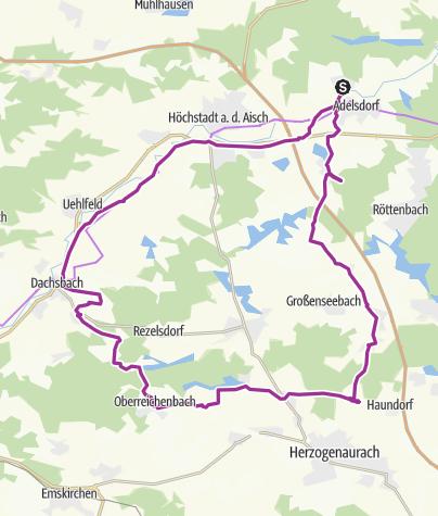Karte / Linden