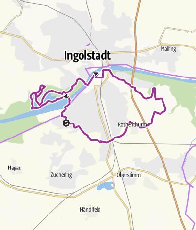 Karte / 30. Mai 2017 Ingoradler Radifest Tour