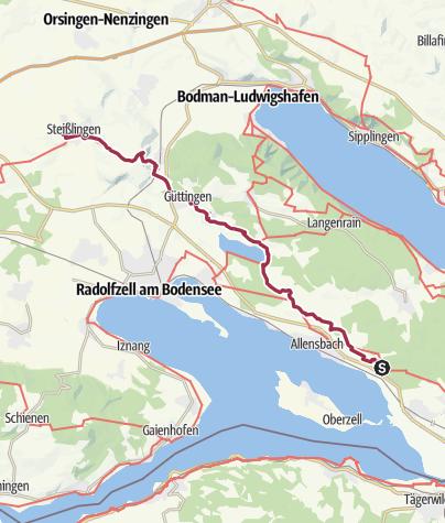 Karte / 6 Hegne - Steißlingen