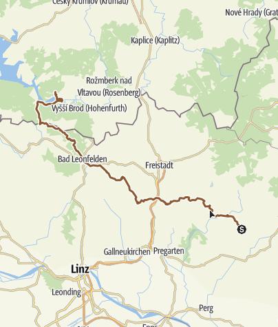 Map / Tour Schönau - Lipno