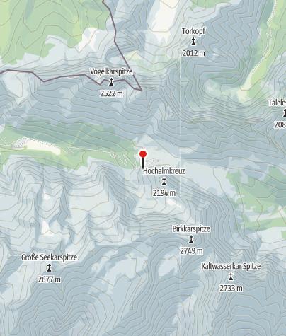 Map / Birkaspitze