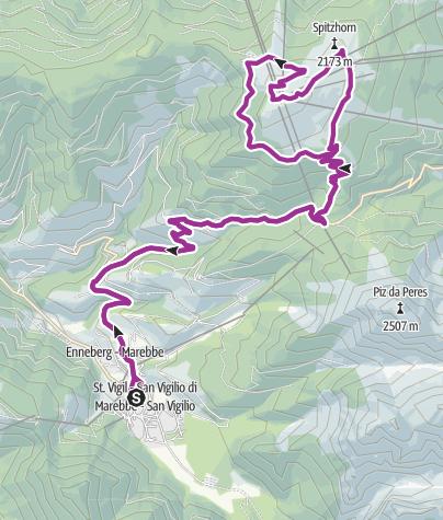 Karte / Kronplatzrunde 28_1300