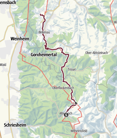 Karte / 22 Altenbach - Nieder-Liebersbach