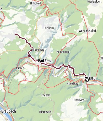 Karte / 32 Nassau - Arenberg