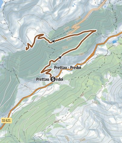 Karte / Mountainbike-Panoramatour Waldneralm