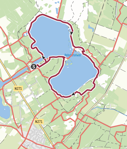 Karte / Reindersmeer